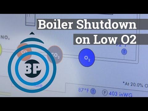 Boiler Shutdown on Low O2 - Boiling Point