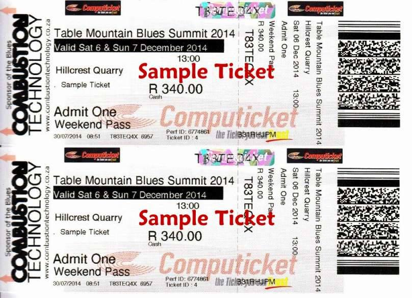 TMBS 2014 Ticket