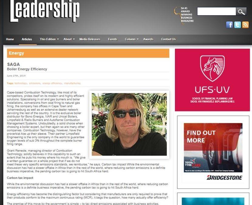 Leadership Magazine Feature
