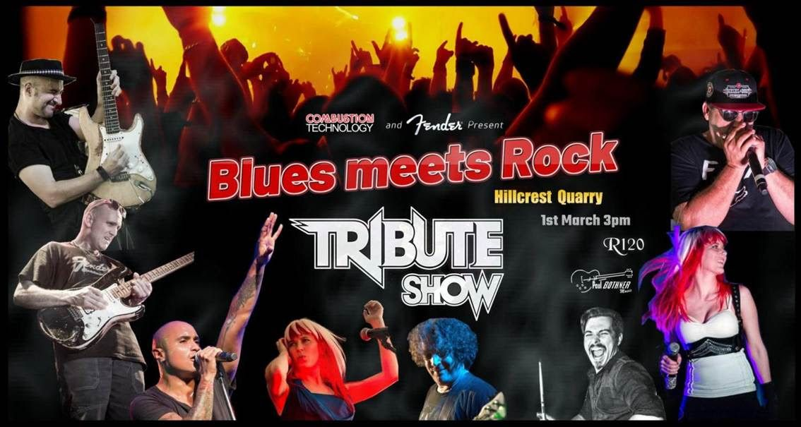1st March – Blues Rock Tribute Show – Hillcrest Quarry