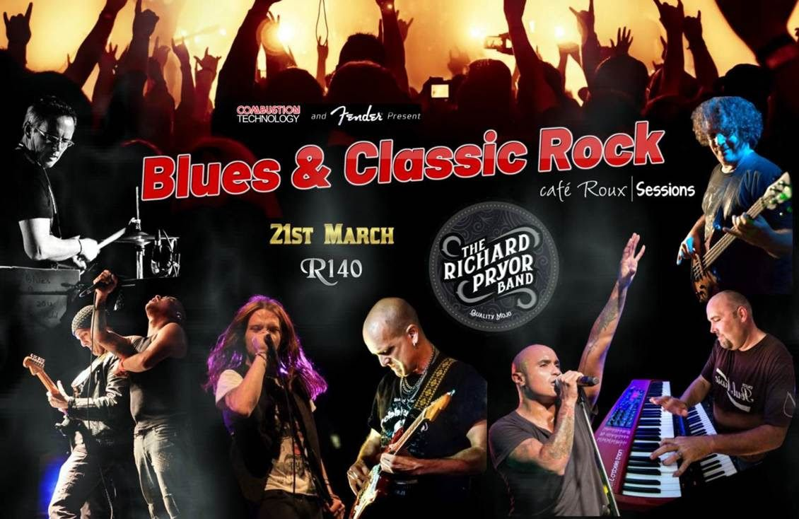 21st March – A Night of Blues Rock at Cafe Roux Noordhoek
